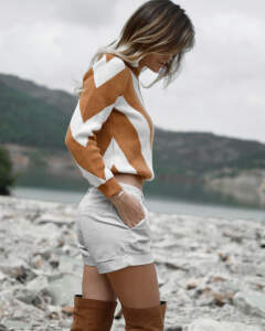 Pullover bauchfrei